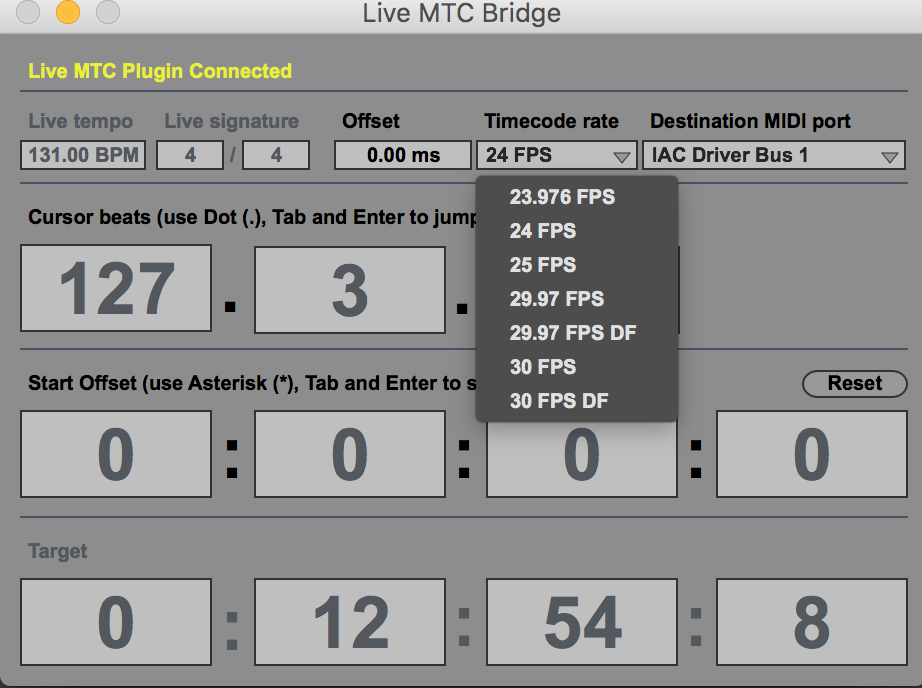 MIDI TimeCode Generation & Sync – From Ableton to iOS – Aud-iOS