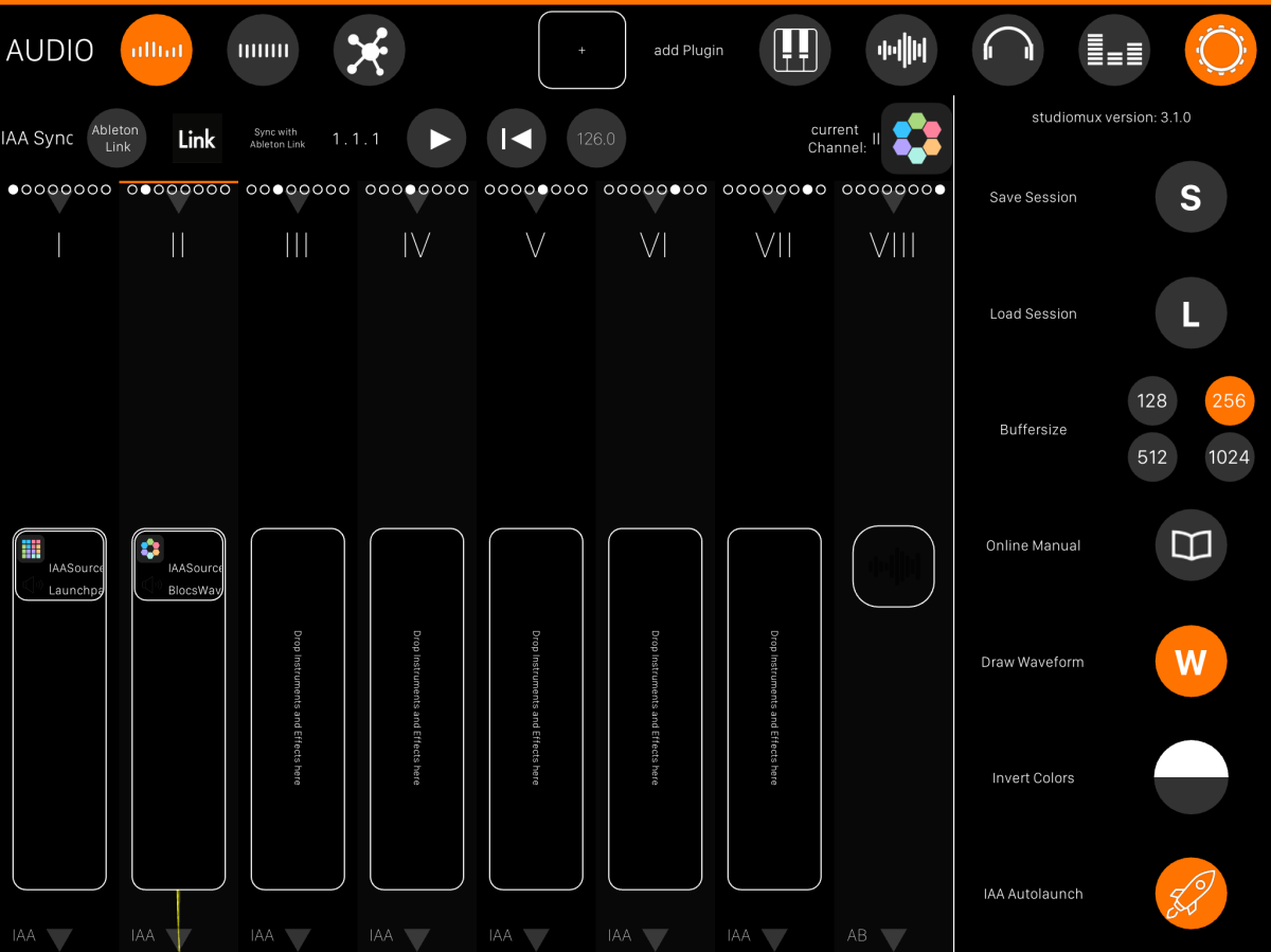 Studiomux – Still Tops for Audio & MIDI Routing Between iOS '11