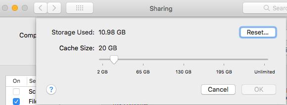 High Sierra & iOS '11 – Files, Backups & Internet Sharing