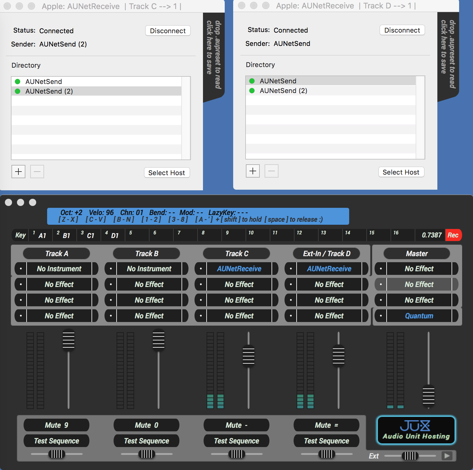 Free Mac Audio Routing Tools – Apple's AUNetSend & Receive