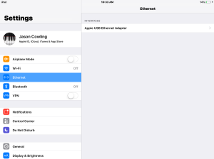 How To: iOS Audio, Video & MIDI over Ethernet with Apple TV